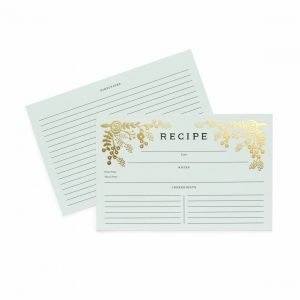 Golden Garden Recipe Cards – Rifle Paper Co.