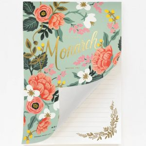 Mint Birch Monarch Notepad – Rifle Paper Co.