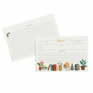 Kitchen Shelf Recipe Cards – Rifle Paper Co.