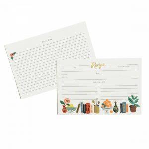 Kitchen Shelf Recipe Cards – Rifle Paper Co.
