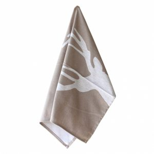 Tan Deer Kitchen Towel – Casafina