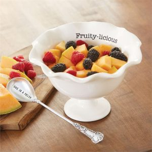Fruity-licious Pedestal Bowl Set – Mudpie