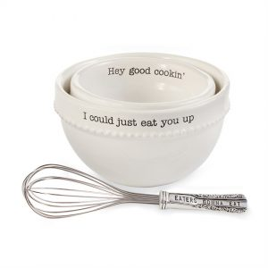 Mixing Bowl and Whisk Set – Mudpie