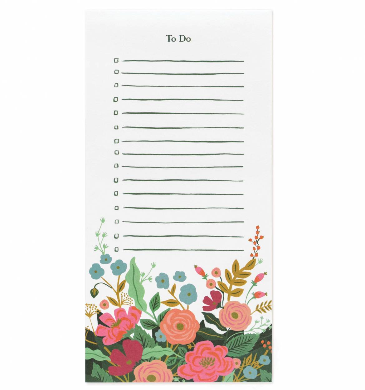 Floral Vines To-Do List