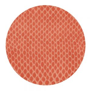 Snakeskin Felt-Backed Coasters – Caspari