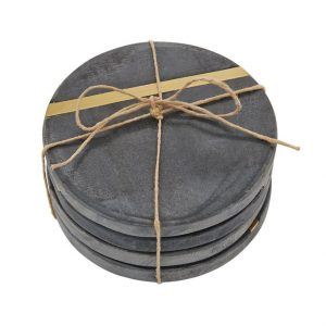 Slate Coaster Set of 4 – Mudpie