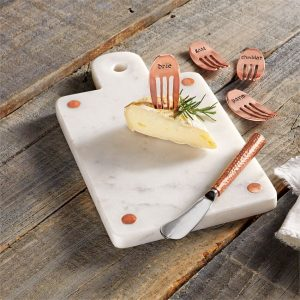 Copper Cheese Markers – Mudpie