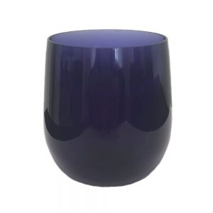 Cobalt Acrylic 12oz Tumbler Glass  – Caspari