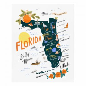 Florida Art Print – Rifle Paper Co.