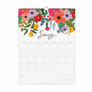 2019 Bouquet Wall Calendar – Rifle Paper Co.