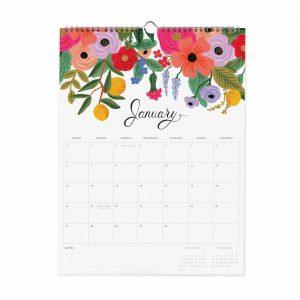 2019 Bouquet Wall Calendar – Rifle Paper Co.