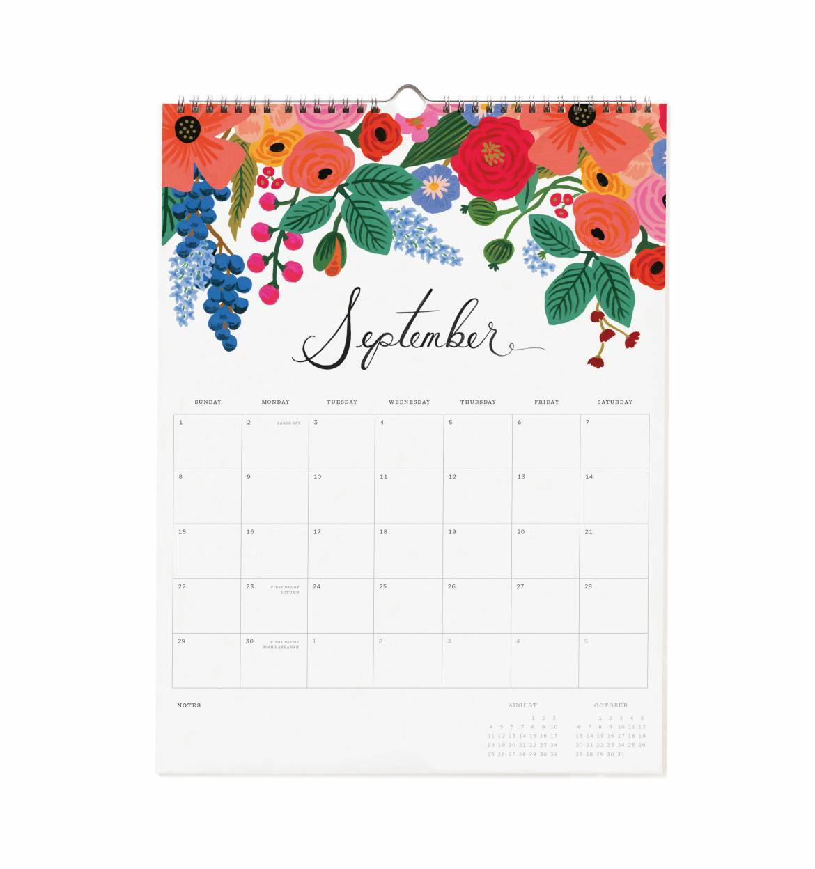 2019 Bouquet Wall Calendar – Rifle Paper Co. - The Write ...