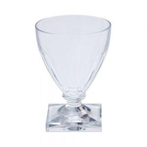 Crystal Clear Acrylic 8.5oz Wine Goblet – Caspari
