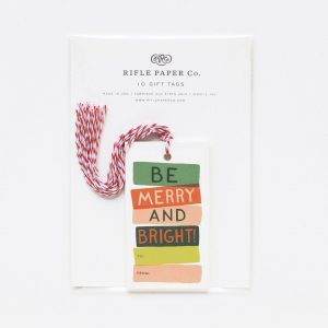 Be Merry and Bright Gift Tags – Rifle Paper Co.