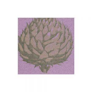 Etched Artichoke Paper Linen Cocktail Napkins – Caspari