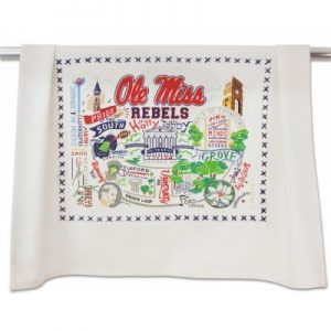 Ole Miss Tea Towel – catstudio