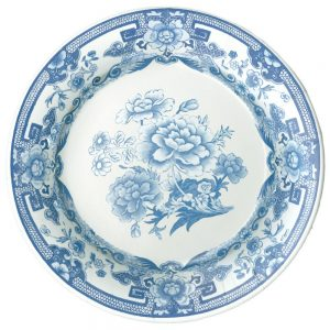 Blue & White Paper Dinner Plates – Caspari