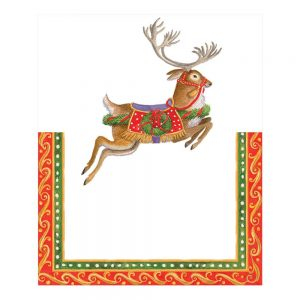 Merry Go Round Die-Cut Place Cards – Caspari