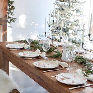 Casafina™ | Deer Friends | Dinner Plates (4) – White