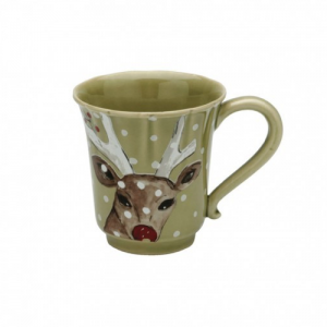 Casafina™ | Deer Friends | Mug – Green