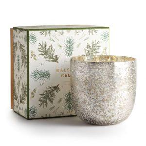 Illume® Balsam & Cedar   Mercury Glass – Small
