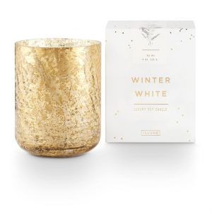 Illume® Winter White | Mercury Glass – Large