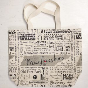 Murfreesboro Subway Tile Art – Tote
